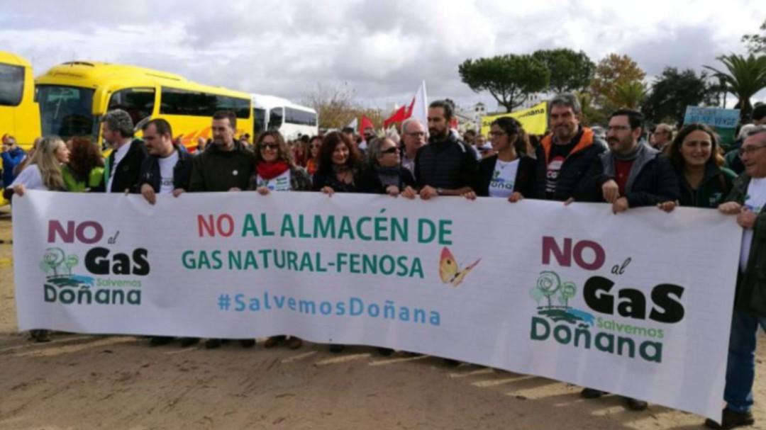 Europa solicita que se paralice el proyecto de Gas Natural en Doñana