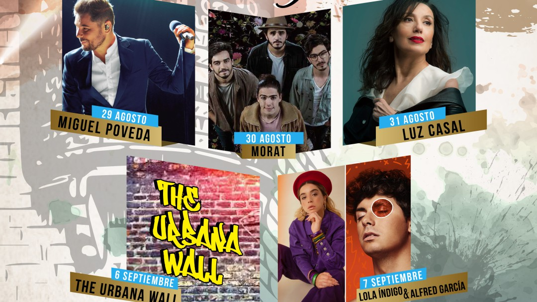 bdbdab4922 Miguel Poveda, Luz Casal, Morat y Lola Índigo con Alfred actuarán en Alcalá