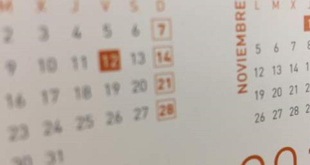 Calendario Laboral Xativa 2020.Calendario Laboral 2020 Dos Festivos Caen En Sabado Y No Se