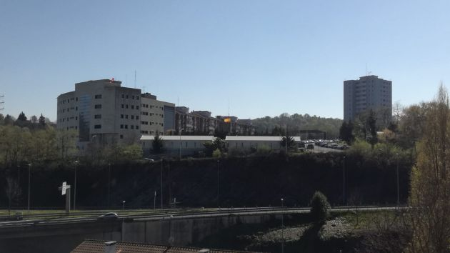 Imagen exterior del cuartel de Intxaurrondo
