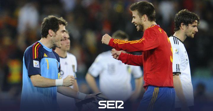 Piqué vuelve a vacilar a 'La Resistencia' con Iker Casillas de por medio