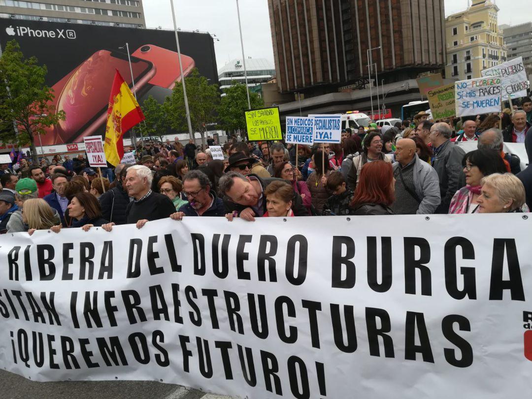 La Ribera encabeza la revuelta burgalesa