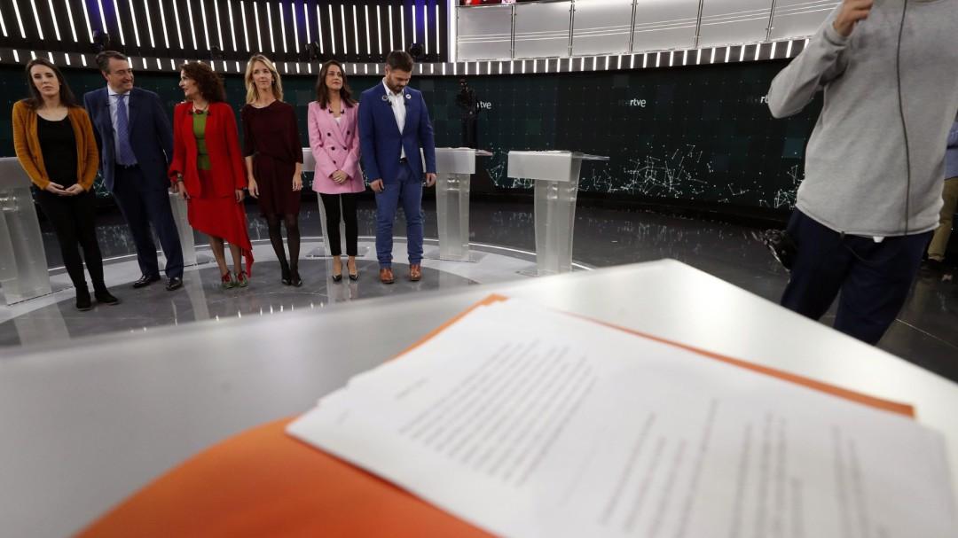 """Análisis del #debateRTVE: del """"sí, sí, sí"""" al """"modérate"""" pasando por el """"chaval"""""""
