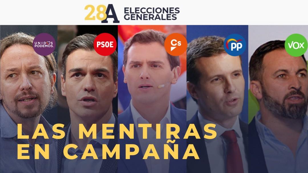 Las mentiras de la campaña política