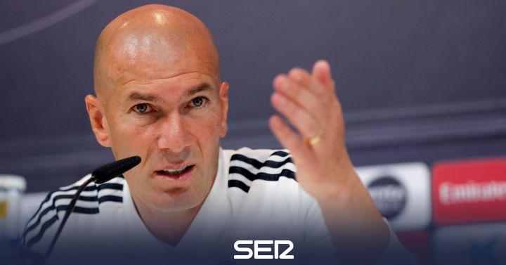 """Zidane: """"Sé perfectamente lo que quiero"""""""