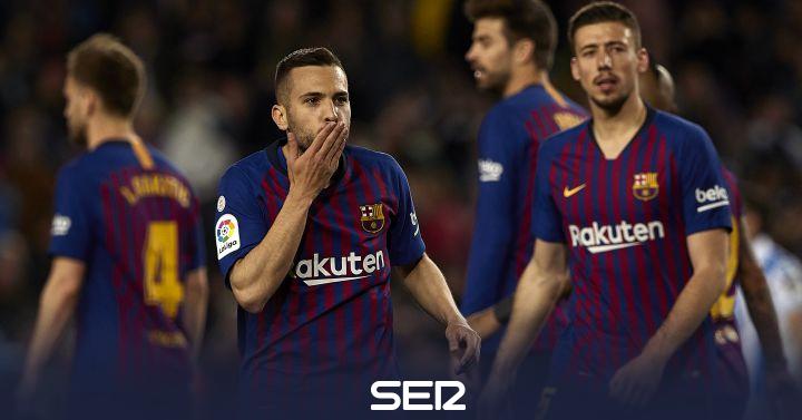 Lenglet y Jordi Alba convierten en reales las cuentas para ser campeones