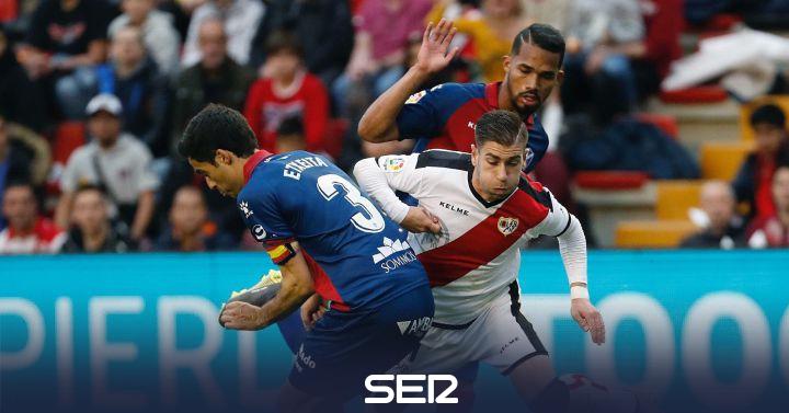 Rayo y Huesca cosechan un empate que les condena