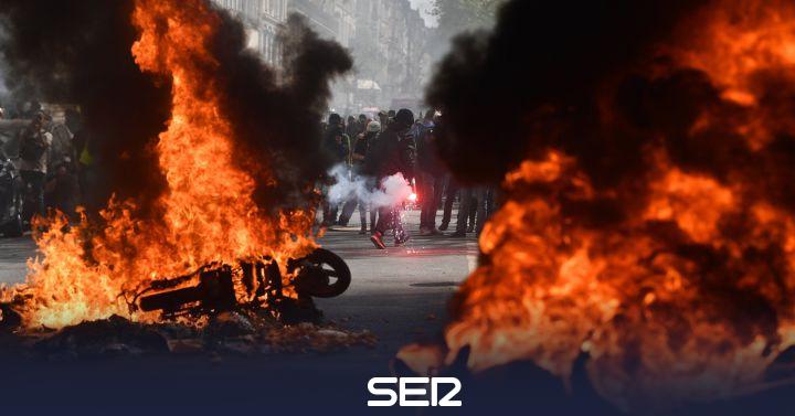 Disturbios y al menos 227 detenidos en el ultimátum a Macron de los 'chalecos amarillos'