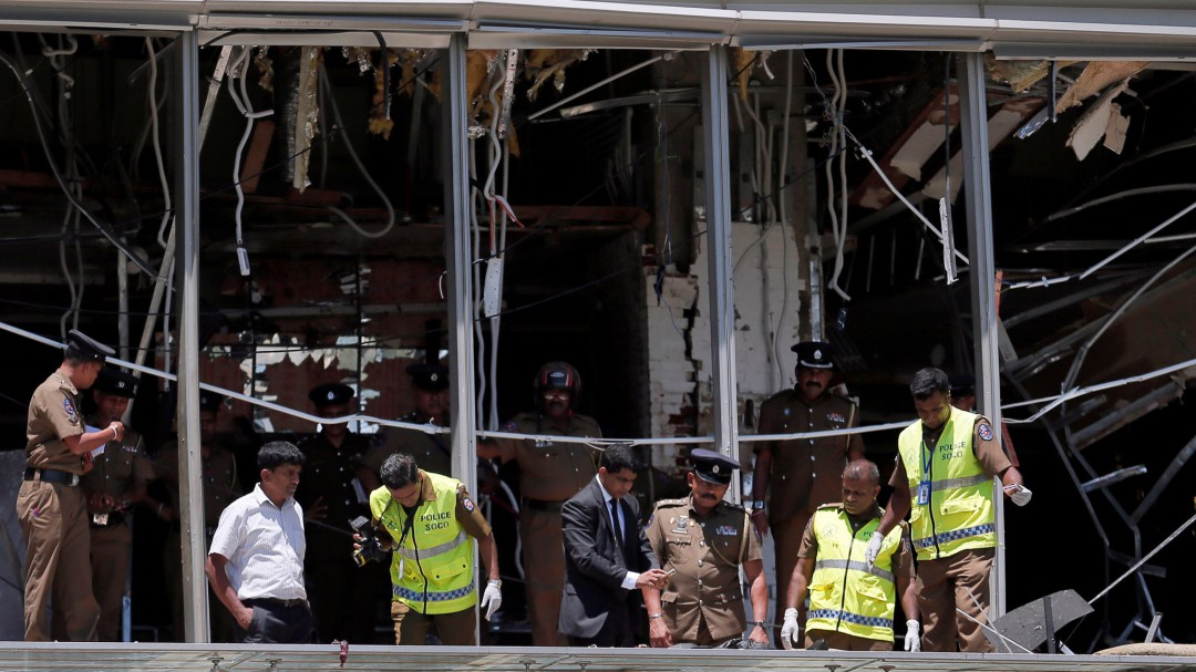 Al menos 207 muertos y 450 heridos en una serie de ataques a iglesias y hoteles de Sri Lanka