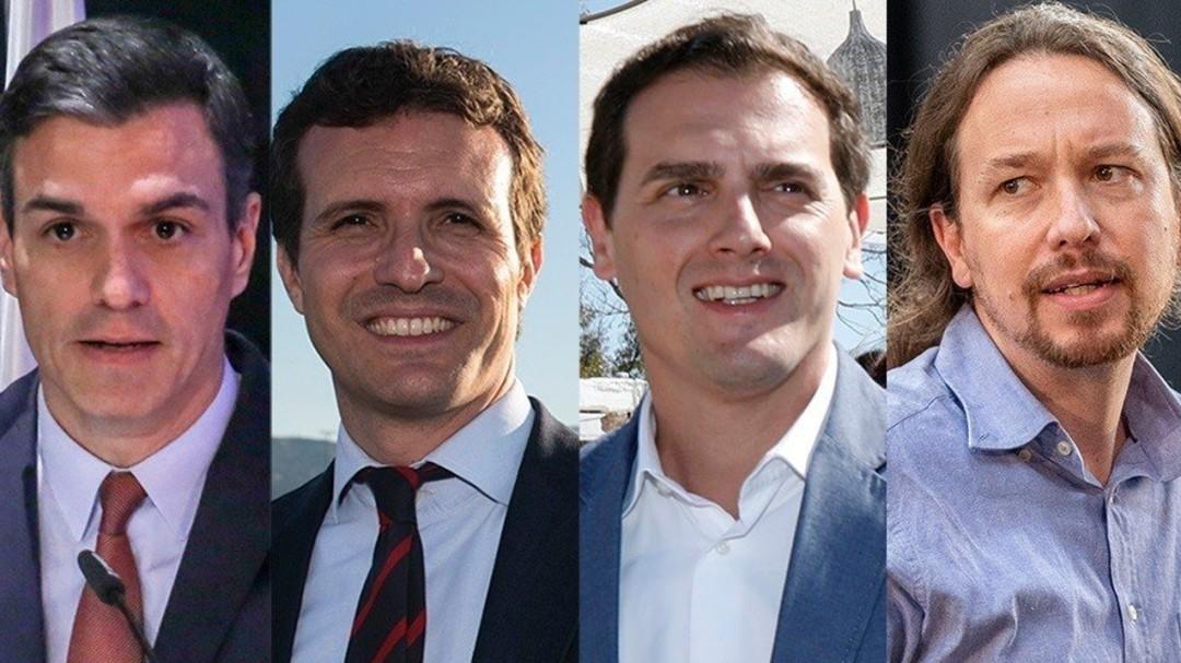 Todos contra Sánchez: así llegan los 4 candidatos al decisivo debate de TVE