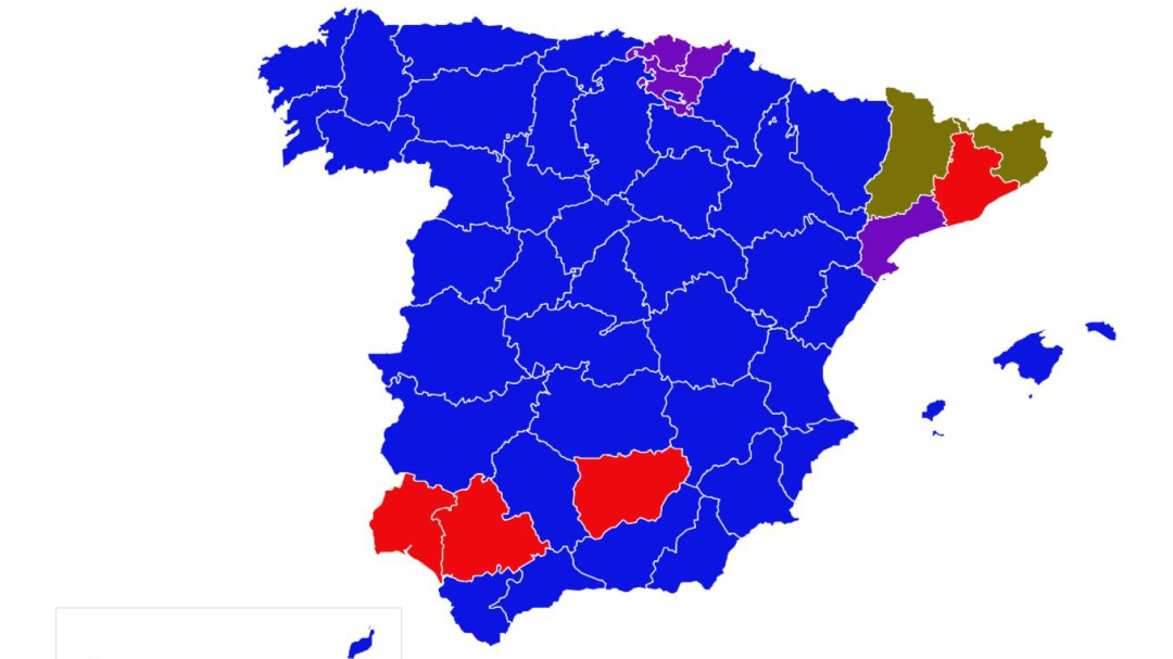 A qué partido votó cada provincia en cuatro décadas de elecciones generales