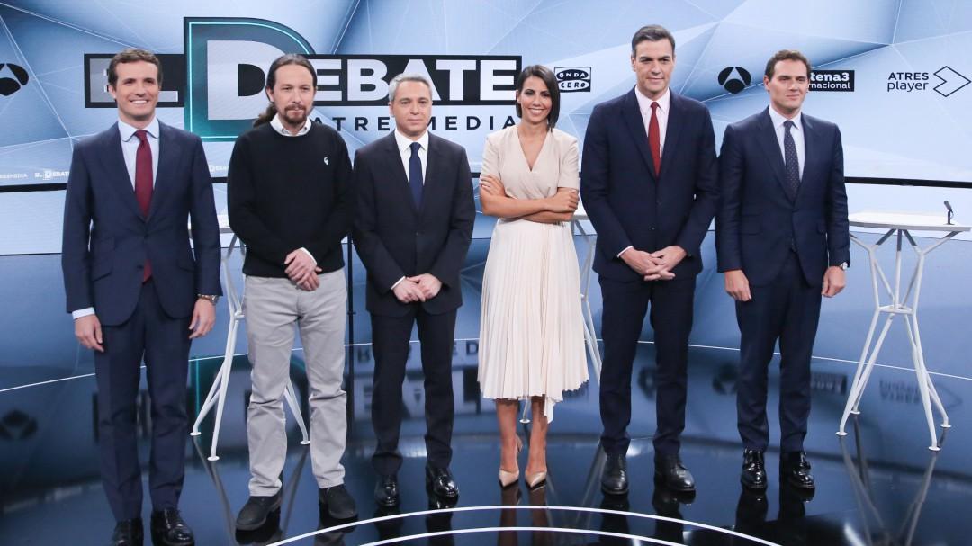 """Así vio Ana Pastor el debate desde dentro: """"Hubo más tensión, más rifirrafes y muchas más interrupciones"""""""