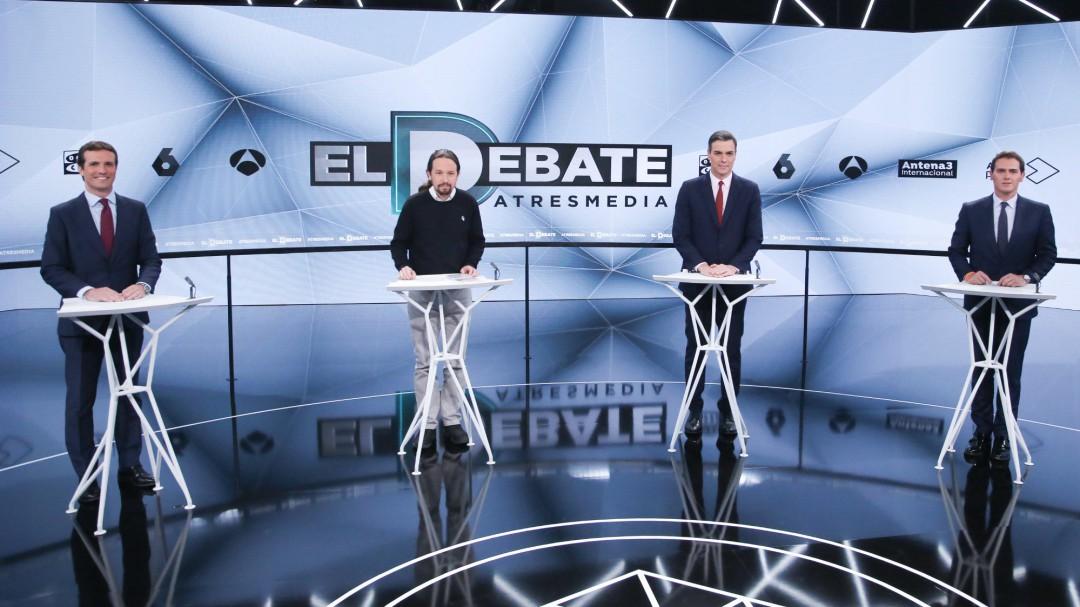 """Policía y Guardia Civil, los """"grandes olvidados"""" de los debates electorales"""