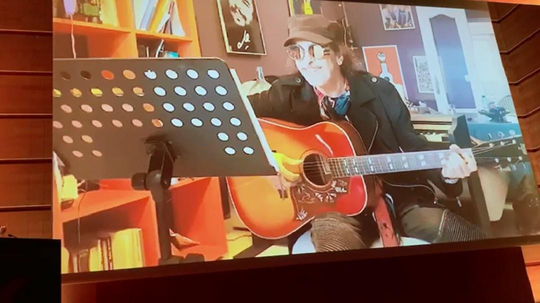 """Juan Carlos Aragón: """"Si me dan el premio el año que viene de nuevo iré a recogerlo, este año estoy con Bob Dylan"""""""