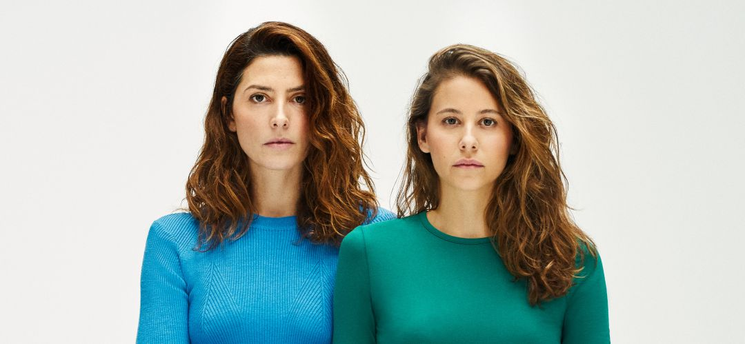 Irene Escolar y Bárbara Lennie interpretan 'Hermanas'.