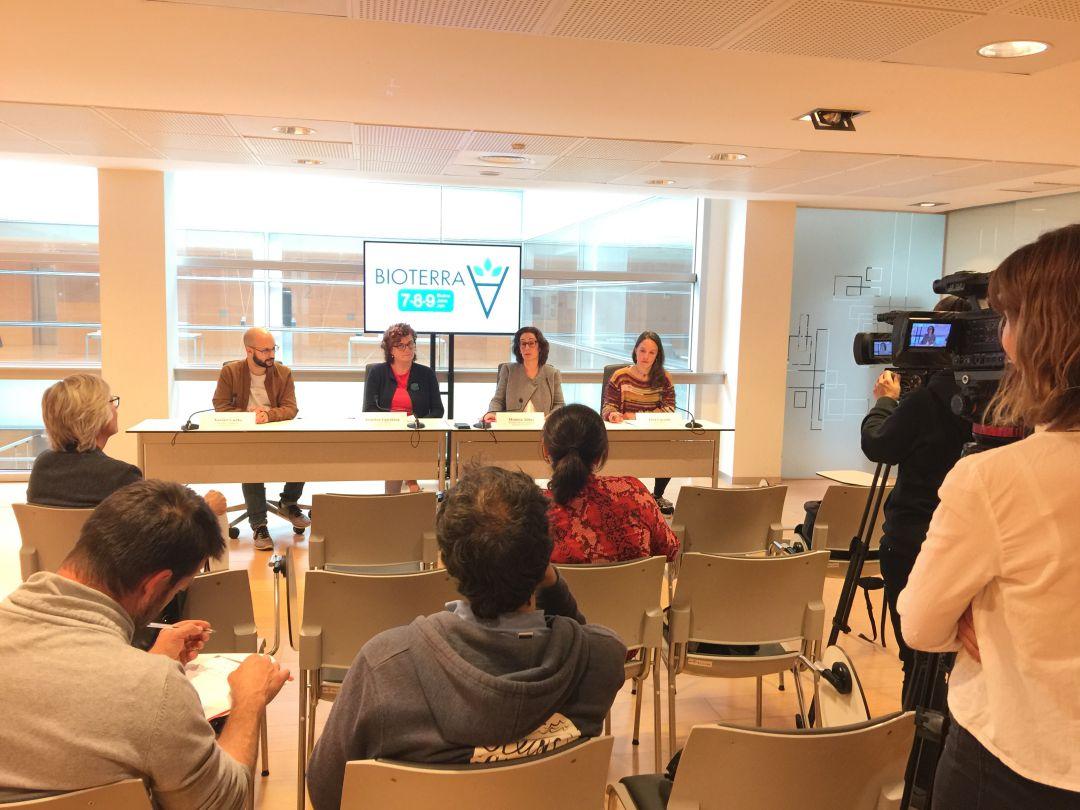 Rueda de prensa en la que se ha presentado la 16ª edición de Bioterra.