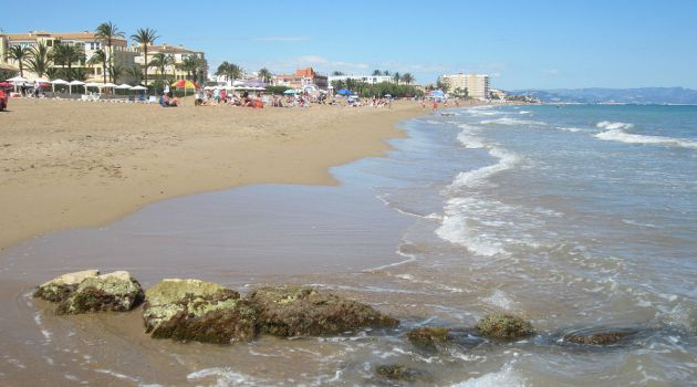 Playa Les Marines (Nules).