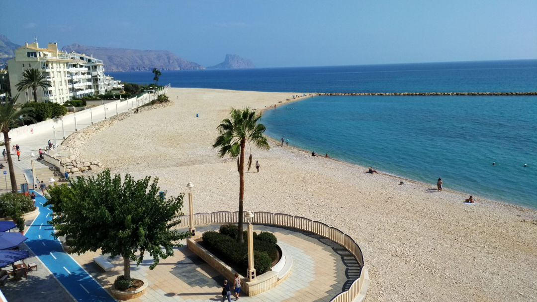 Playa de Altea.