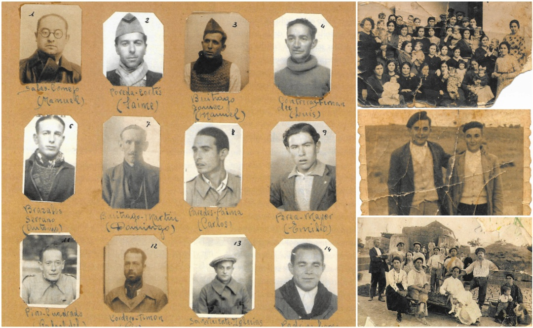 Vidas Enterradas: Fotografías familiares y pancartas públicas