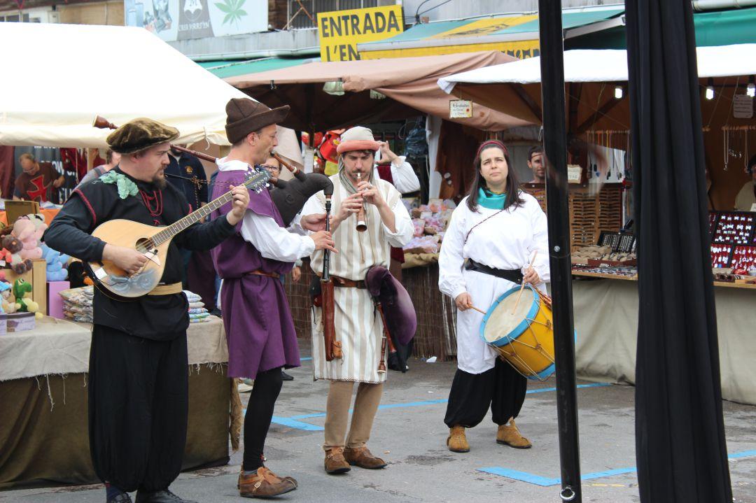 Imagen de una actividad musical en Behobia.