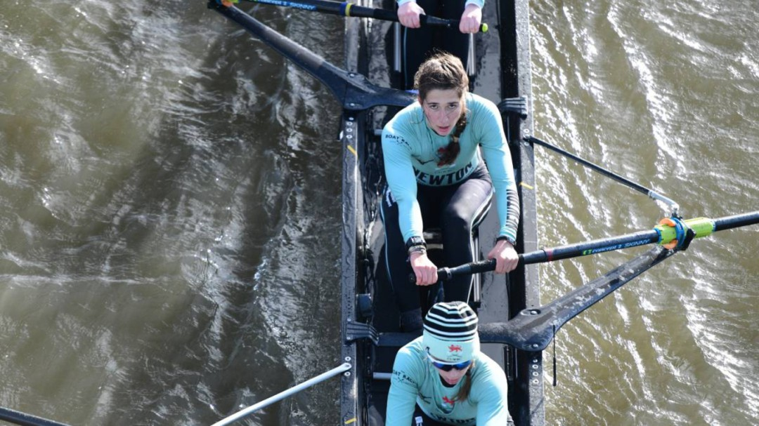 Adriana Pérez, una española en la regata Oxford-Cambridge
