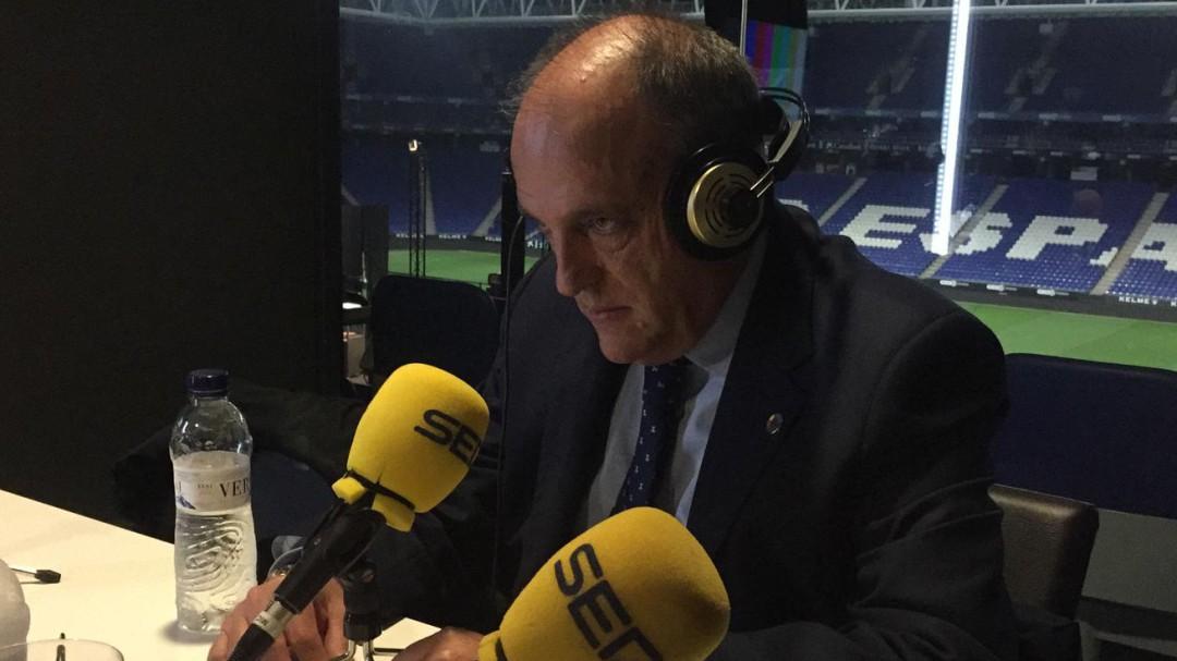 """Javier Tebas: """"La Superliga Europea significaría la muerte de las competiciones nacionales"""""""