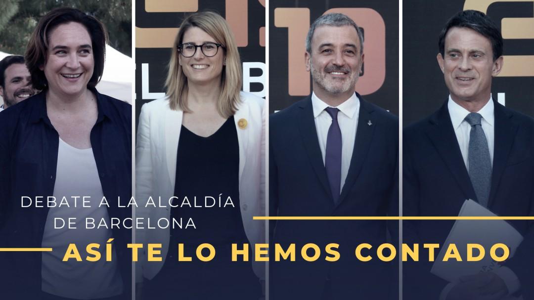 Así te ha contado la SER el debate decisivo para gobernar Barcelona