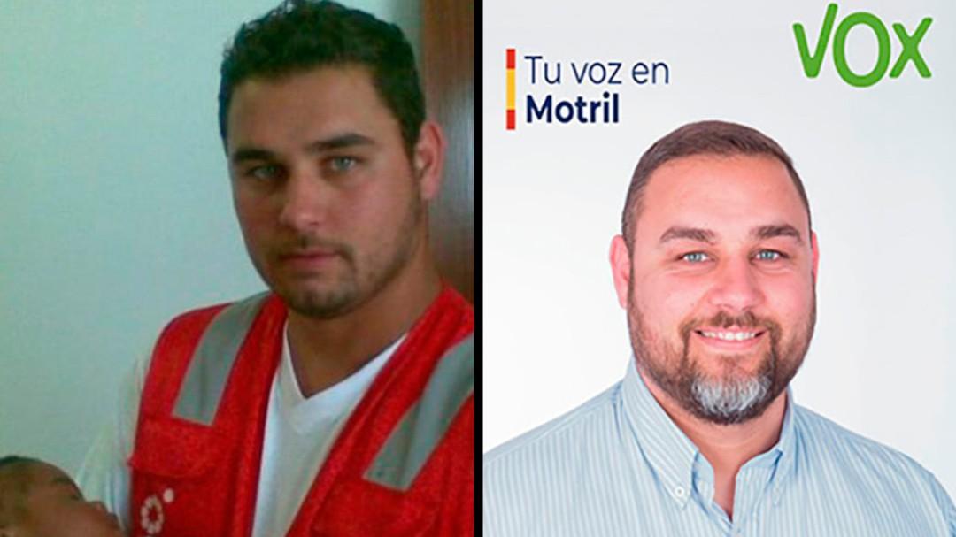 De rescatador de inmigrantes a candidato de Vox en Motril