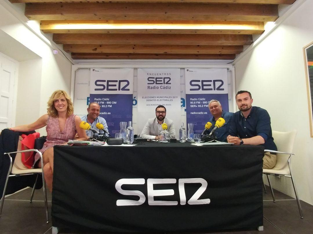 Debate de Radio Cádiz entre candidatos a las elecciones municipales de la capital gaditana desde la sede de la Fundación Cajasol en Cádiz