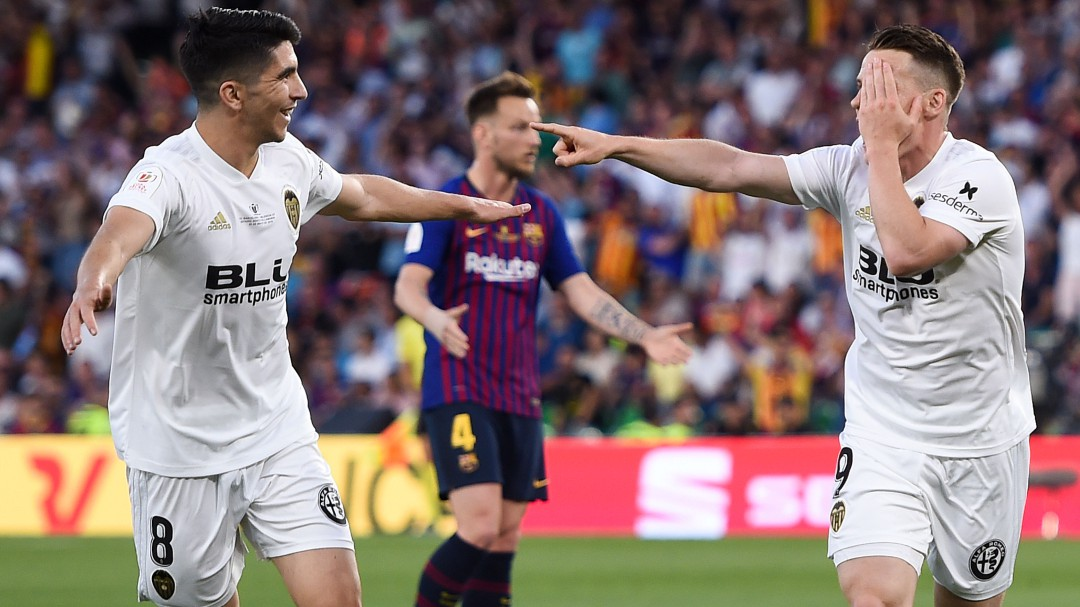 El Valencia gana la Copa con el corazón