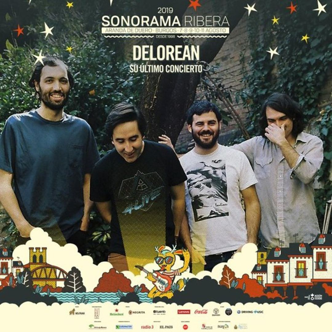Delorean, urban stage y una fiesta en Roa