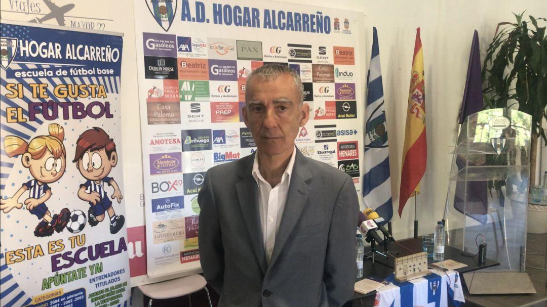 Carlos Terrazas Nuevo Entrenador Del Hogar Alcarreño Equipo