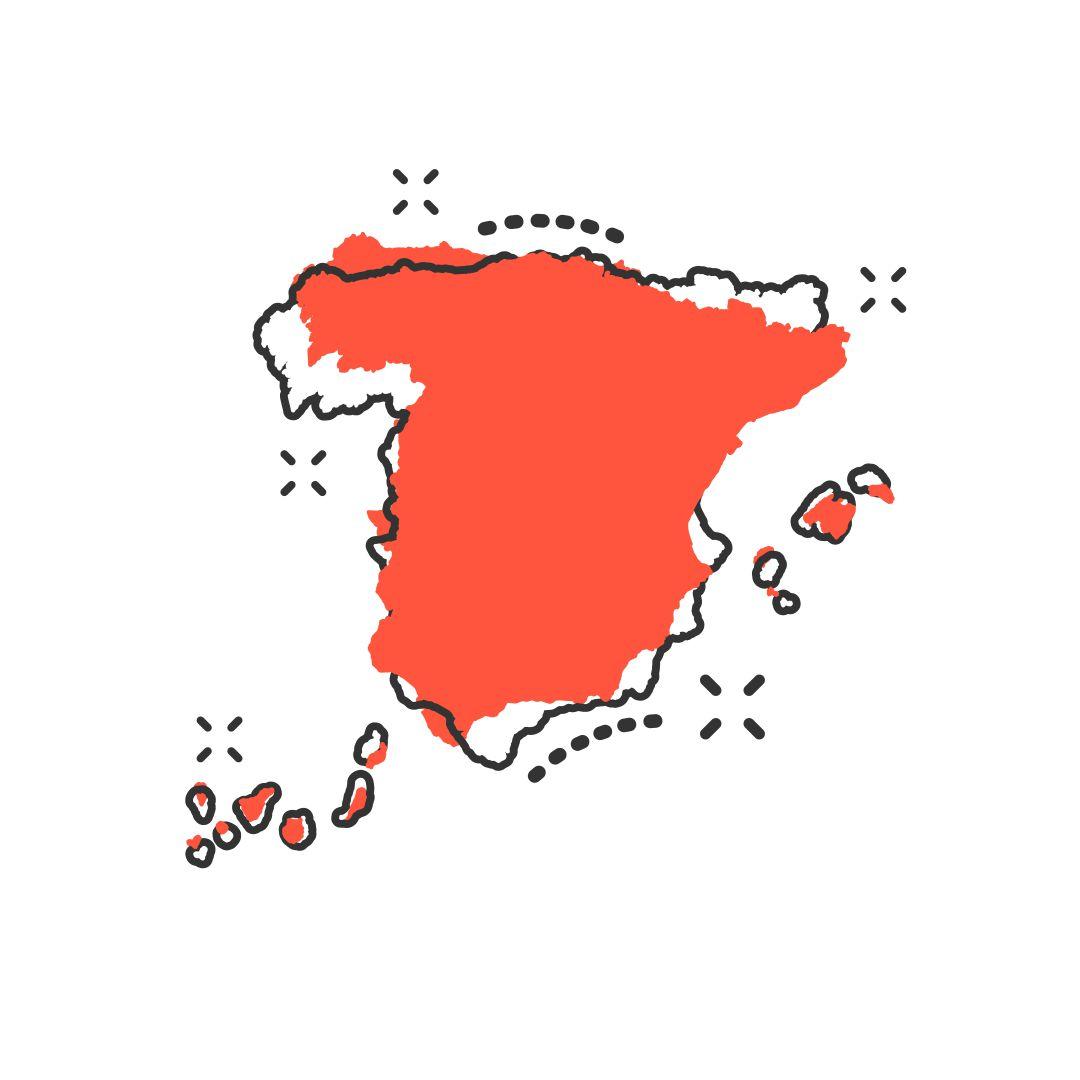 Mapa Economico De España.La Espana De Dos Velocidades De La Desigualdad Y Sus
