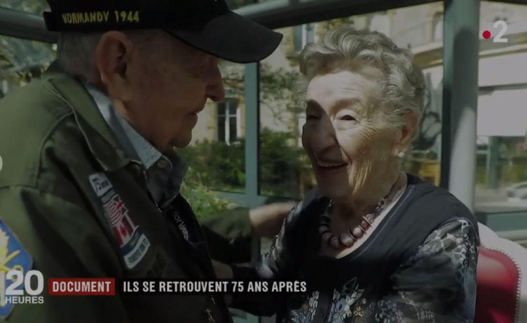 Reencuentro entre Kara Troy Robbins y Jeannine Gayane 75 años después