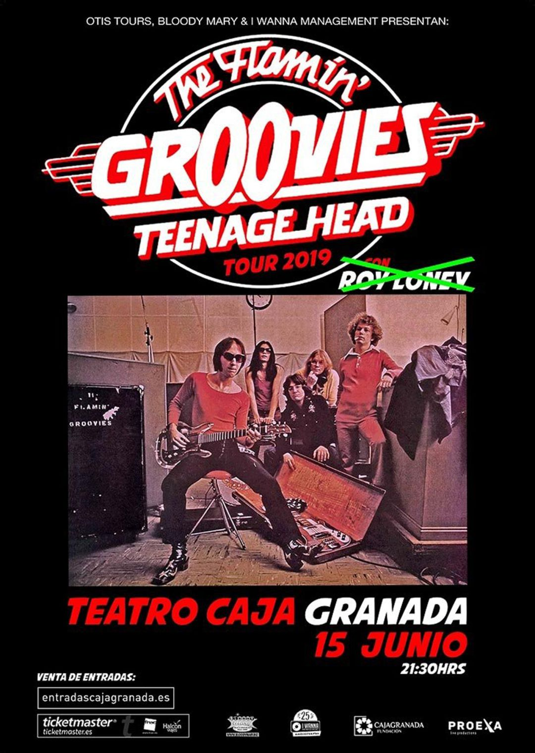 The Groovies, en el Teatro CajaGranada