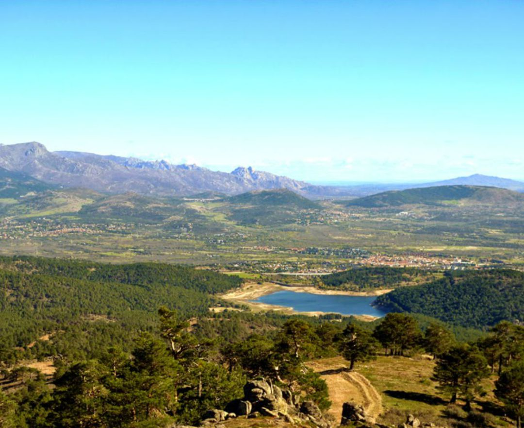 Vistas del Embalse de La Jarosa