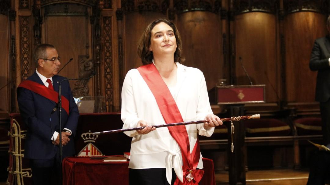 Ada Colau reelegida alcaldesa de Barcelona