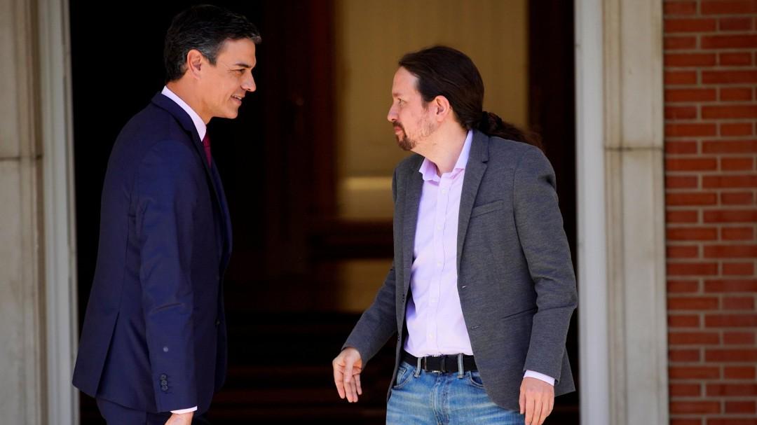 Las condiciones de Podemos en la negociación con Sánchez: qué piden los morados y qué acepta el PSOE