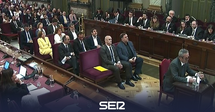 La Fiscalía pide que los presos del procés esperen la sentencia en prisión