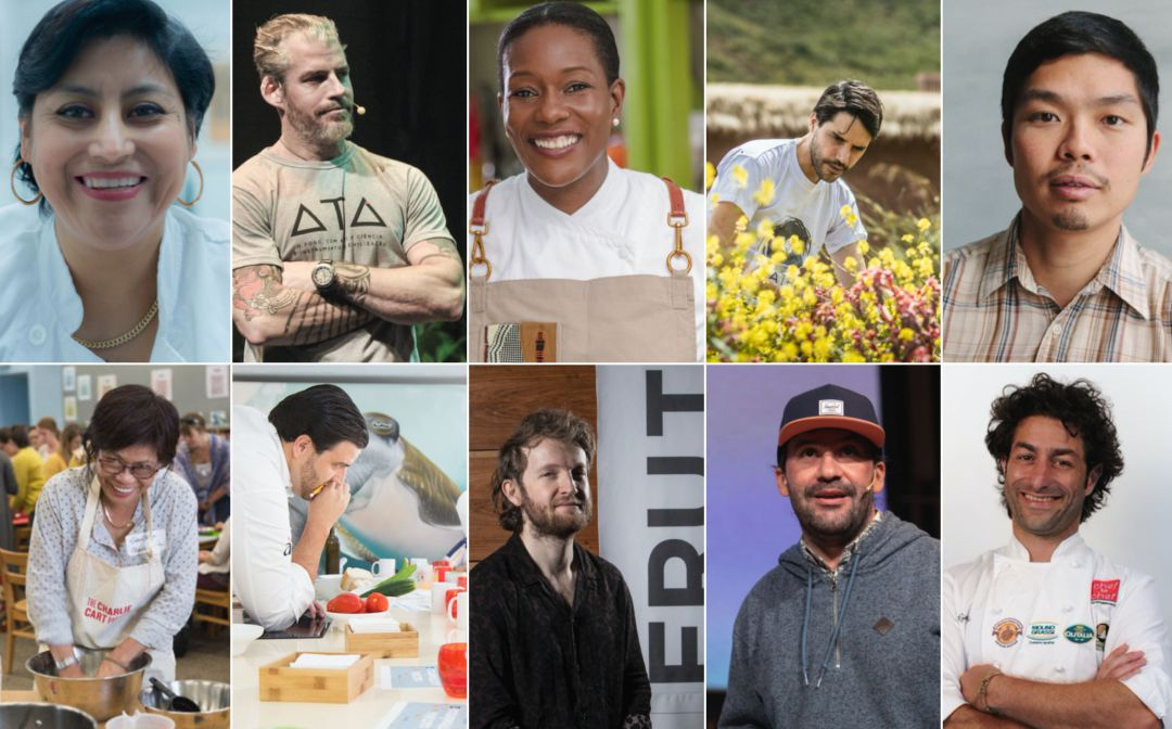 Los finalistas del Basque Culinary World Prize 2019.