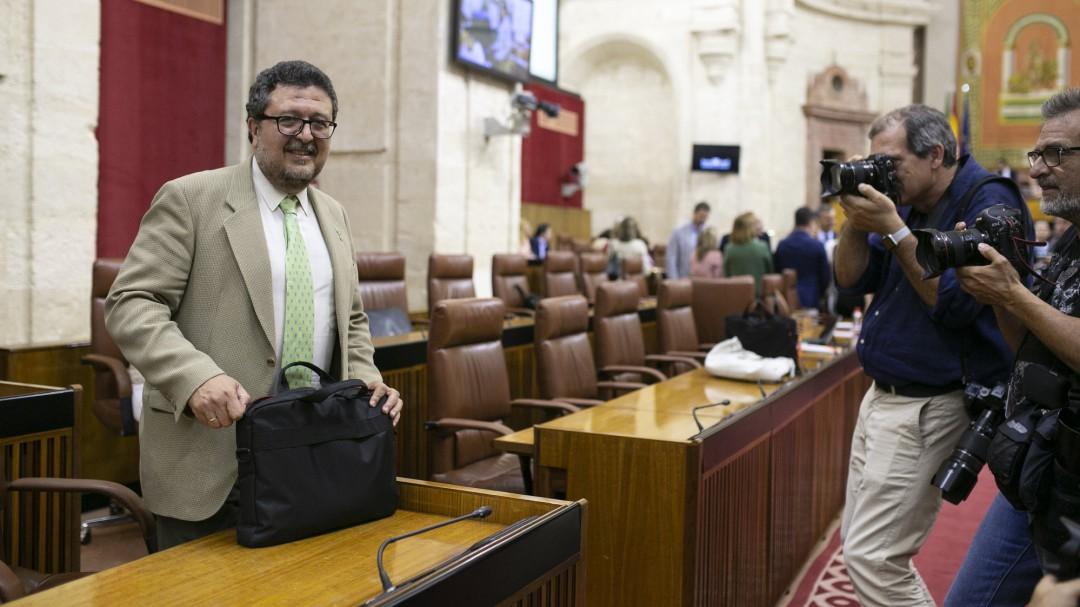 """El líder de Vox en Andalucía cree que la sentencia de 'La Manada' es por """"condicionantes mediáticos y políticos"""""""