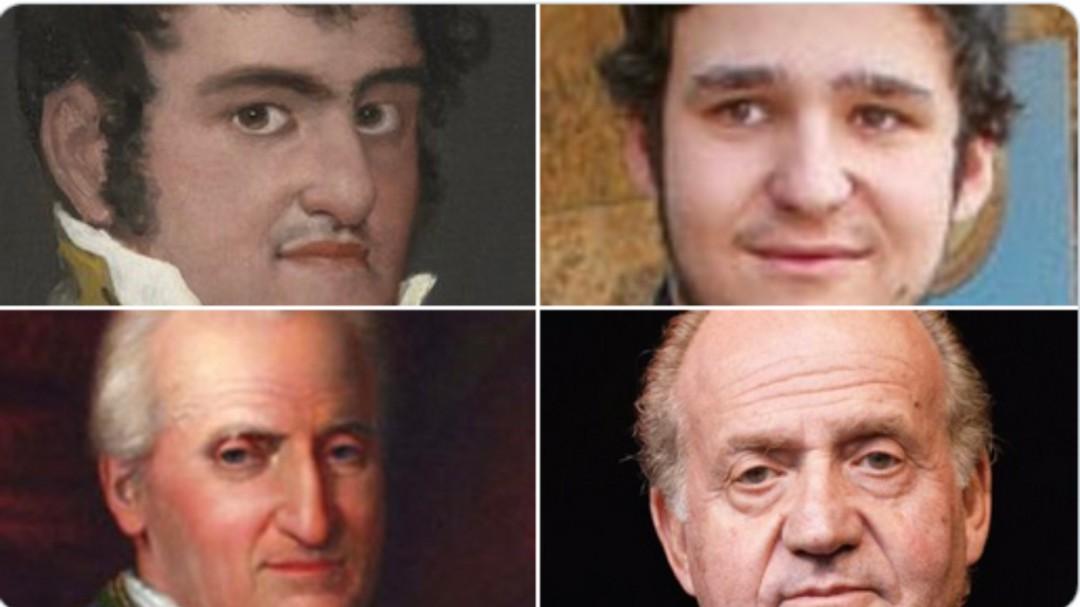 El llamativo parecido de los Borbones: las mismas caras dos siglos después