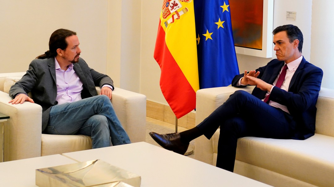 """Podemos asegura que Sánchez les comunicó que prefiere """"el apoyo de la derecha"""""""