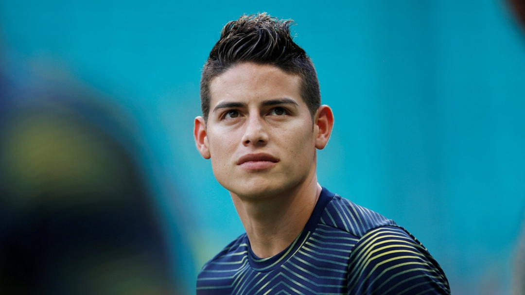 James espera al Atlético de Madrid