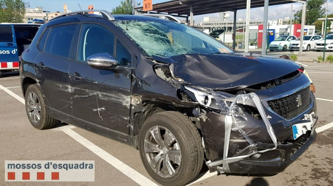 Un vehicle implicat en l'accident mortal d'un ciclista