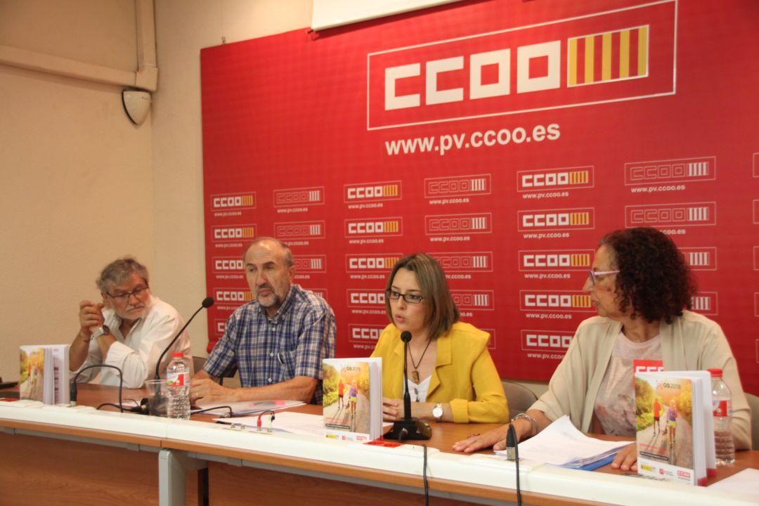 Rueda de prensa de presentación del informe sobre dependencia y el Observatorio social de las personas mayores