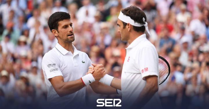 """Djokovic se rinde a Federer tras ganar la final: """"El más grande de los respetos por Roger, por la pelea titánica"""""""