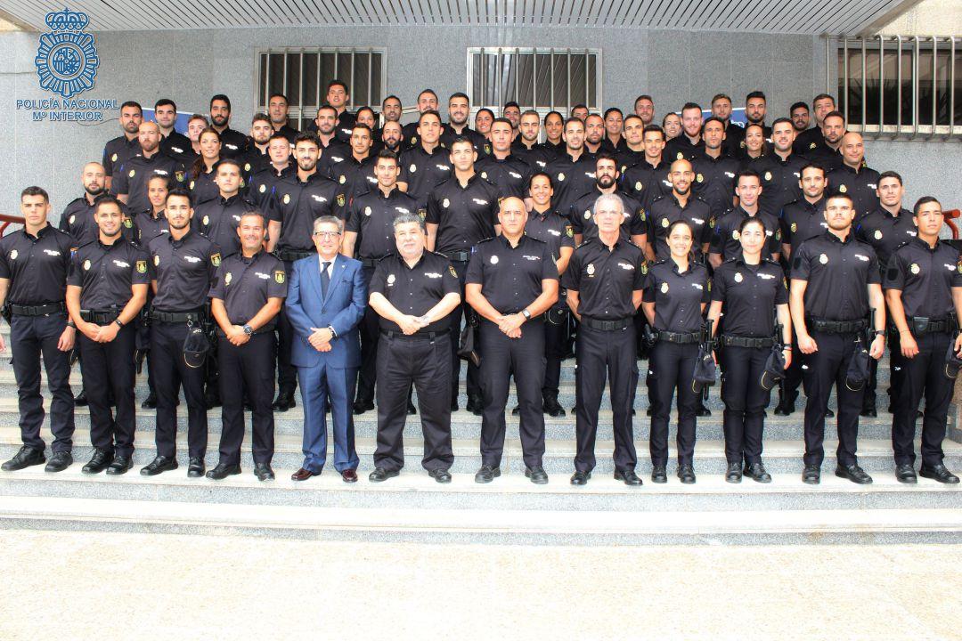 60 Policías Nacionales En Prácticas Se Incorporan A La