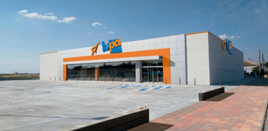 Lupa inaugura un nuevo supermercado en Nava de la Asunción ...
