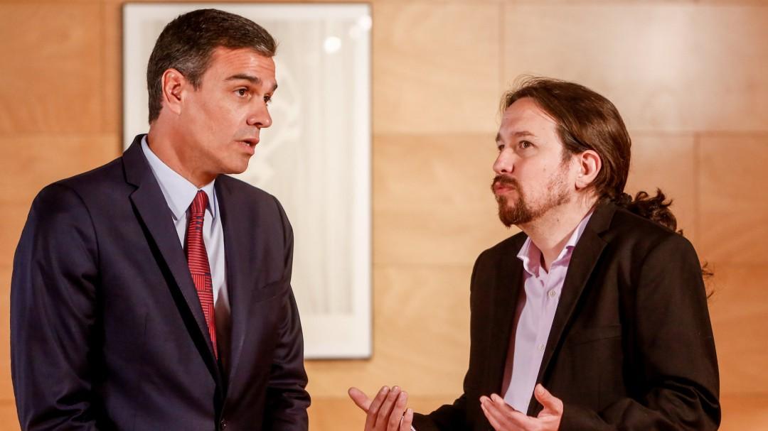 """Pedro Sánchez dice que """"el principal escollo es la participación de Pablo Iglesias en el Gobierno"""""""